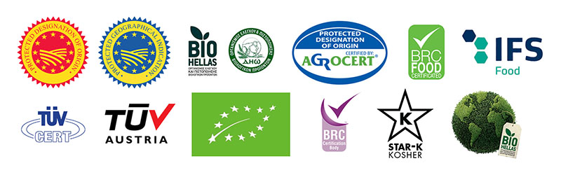 International Quality Food Certifications - Lab Certified Healthy Mediterranean Foods
