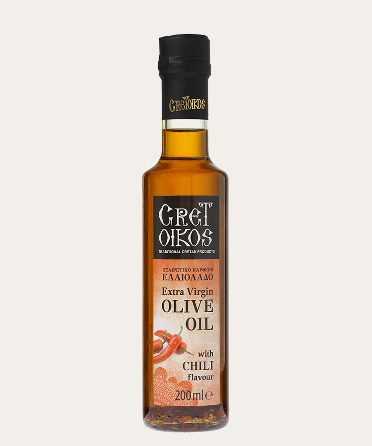 Extra virgin olive oilL with CHILI flavour 200ml
