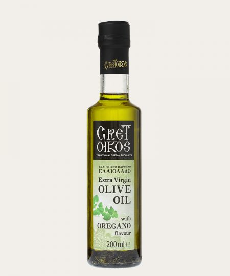 Cretoikos extra virgin olive oil with ROSEMARY 200ml