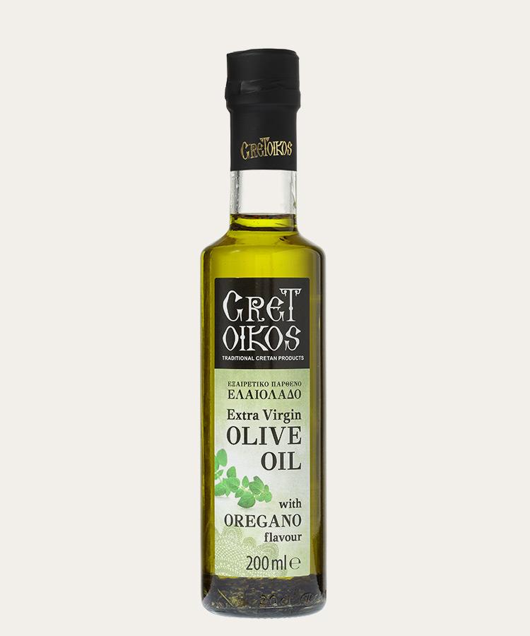 Cretoikos extra virgin olive oil with ROSEMARY 200ml