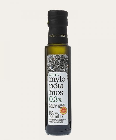 Mylopotamos extra virgin olive oil 0.3% 100ml
