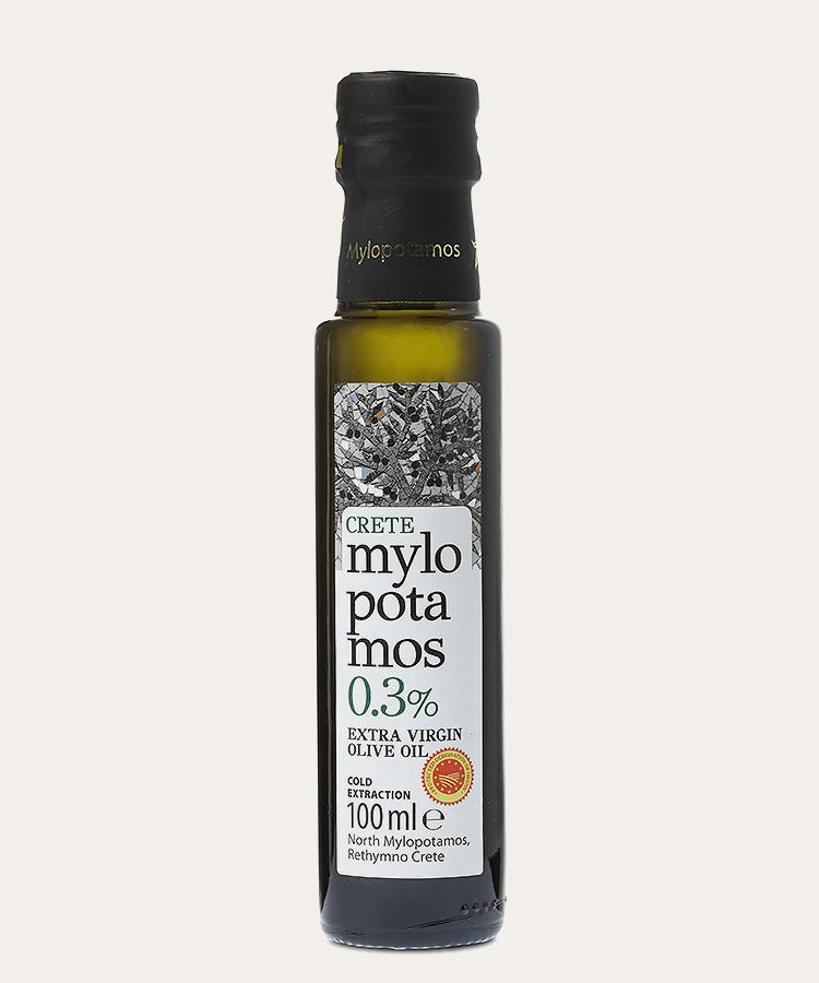 Mylopotamos extra virgin olive oil 0.3% 100ml