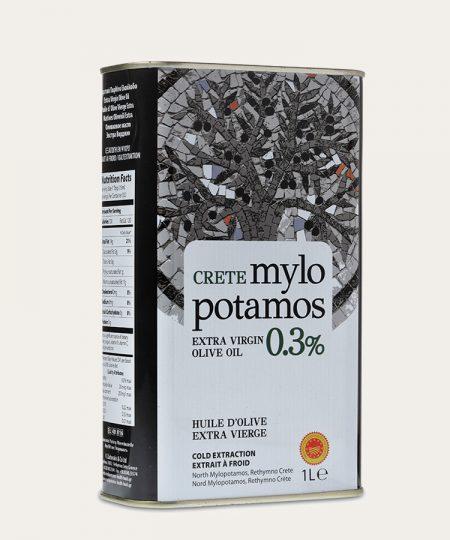 Mylopotamos оливковое масло экстра первого класса 0,3% канистра 1л