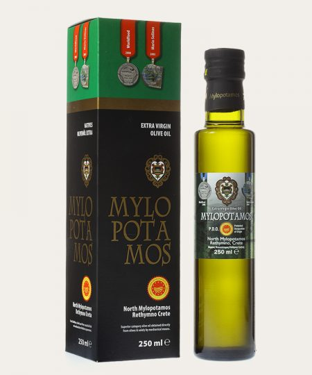 Mylopotamos pdo extra virgin olive oil promo box 250ml