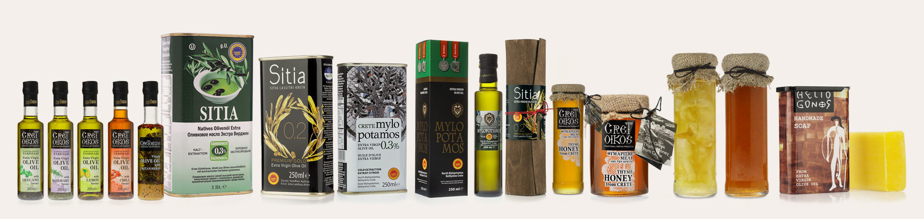 Our EVOO Olive Oil Products